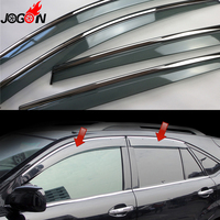 For Lexus RX XU30 RX300 RX350 RX400h 2004 2009 Toyota Harrier Window Sun Rain Visors Vent Shade Deflector Guard Weather Shield