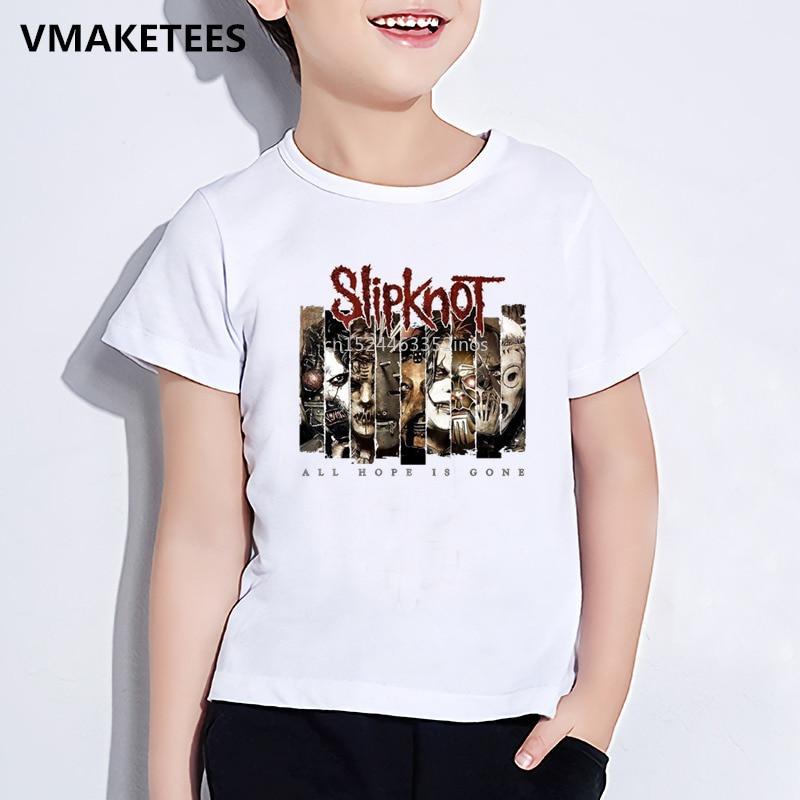 slipknot logo model:3 BLACK t-shirt clothing boy girl kids children slipknot kid