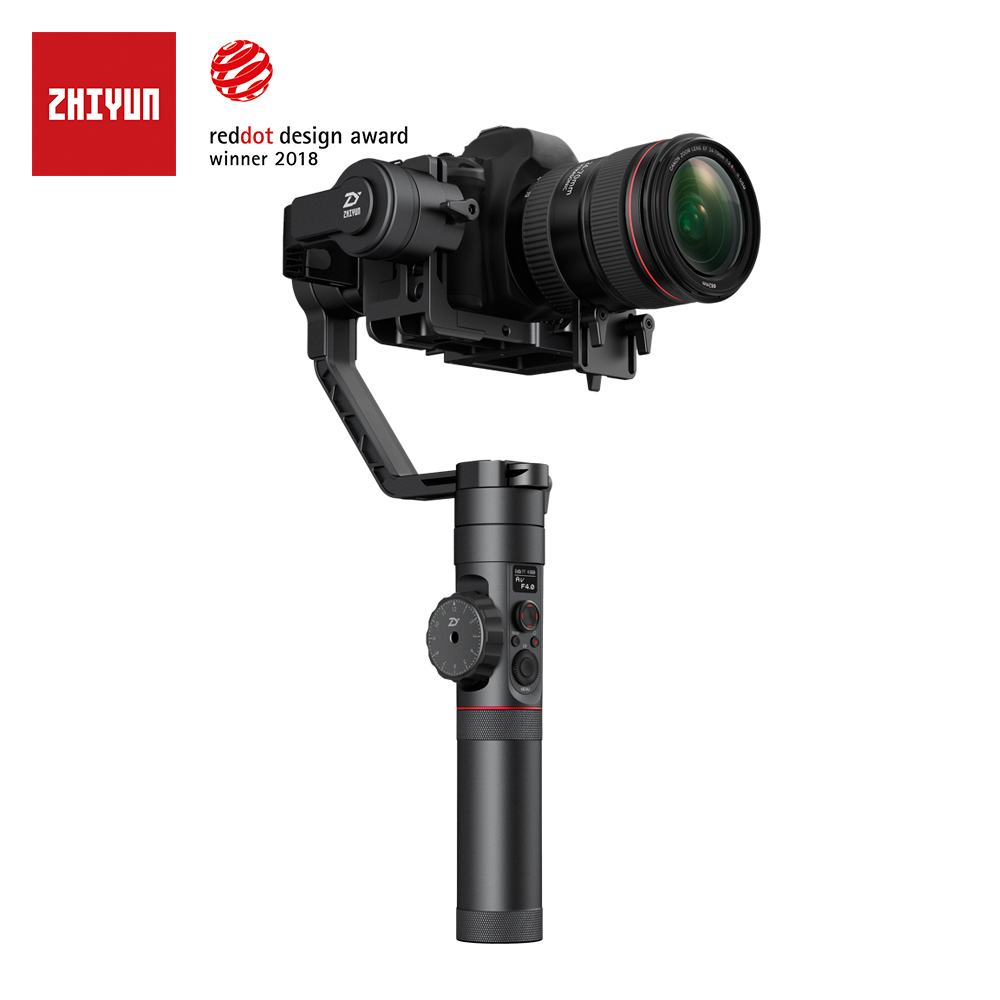zhi yun Zhiyun Official Crane 2 3-Axis Camera Stabilizer with Follow Focus Control for All Models of DSLR Mirrorless Camera zhi yun zhiyun official crane m 3 axis brushless handheld gimbal stabilizer for mirrorless camera action camera support 650g