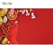 New Year Family Party Chinese Elements Tradition Photography Backdrops Personalized Photographic Backgrounds For Photo Studio