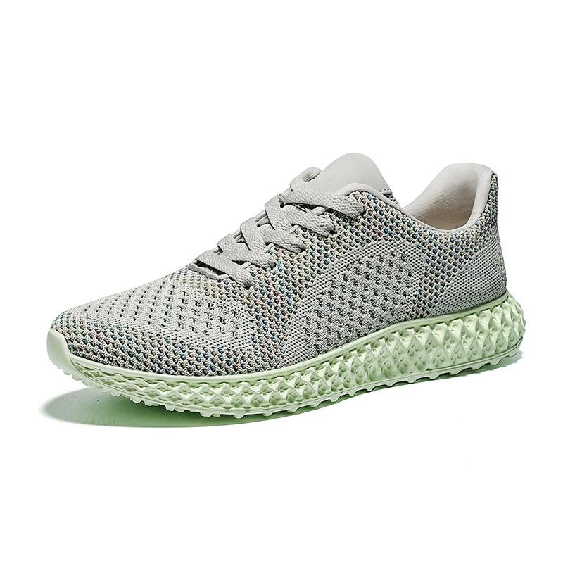 Nouvelle Tendance Sneakers Hommes à lacets Vulcaniser Chaussures respirant décontracté fly tissé chaussettes jeunes À Faible Top Plat marée chaussures Yasilaiya