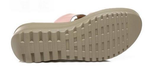 Female Slippers Genuine Leather