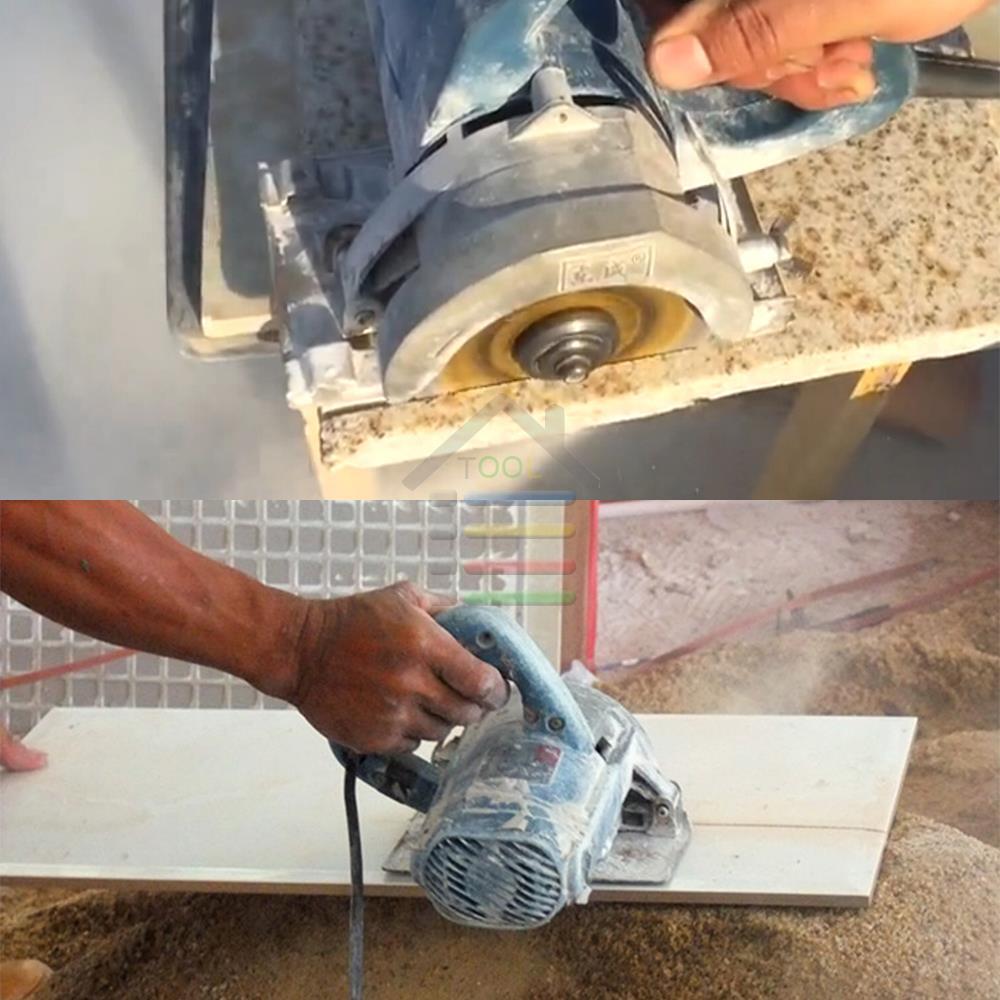 Autotoolhome Ceramic Tile Cutting Disc 115mm 45 Diamond Angle