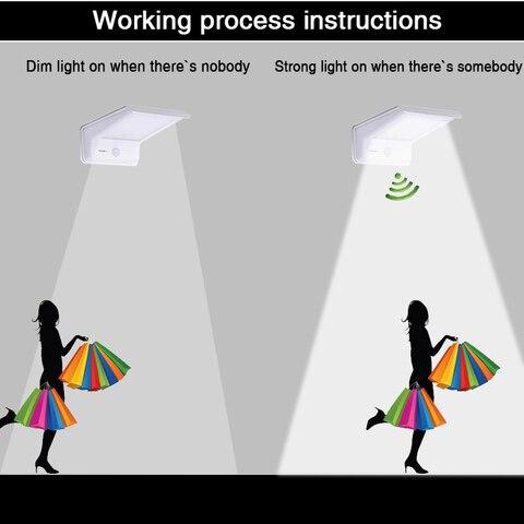 sensor de movimento ao ar livre luzes