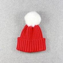 Dětská zimní pletená čepice ve více barvách