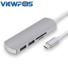 USB HUB 2 Port USB three.zero Hub USB Subsidiary Converter SD TF Card Extende For Apple pc