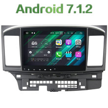 2GB RAM Android 7.1.2 12V Car Radio Bluetooth 2din stereo Player Phone MP3 Bluetooth hands-free for Mitsubishi Lancer 2015