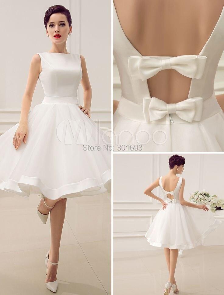 Inexpensive Short Wedding Dress