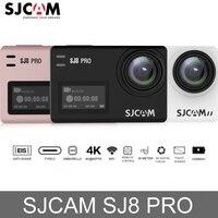 Оригинальная Экшн-камера SJCAM SJ8 Pro с сенсорным экраном WiFi 4 K 60fps HD DVR пульт для видеокамеры управления 30 м водонепроницаемая Спортивная камера
