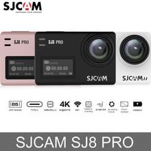 Оригинальный SJCAM SJ8 Pro Сенсорный экран экшн-камера WiFi 4 к 60fps HD DVR пульт для видеокамеры управление 30 м водостойкая Спортивная камера