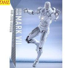 Мстители 3 фильм железный человек Тони Старк 1:6 MK7 Superhero ПВХ фигурку Коллекционная модель игрушки L2228