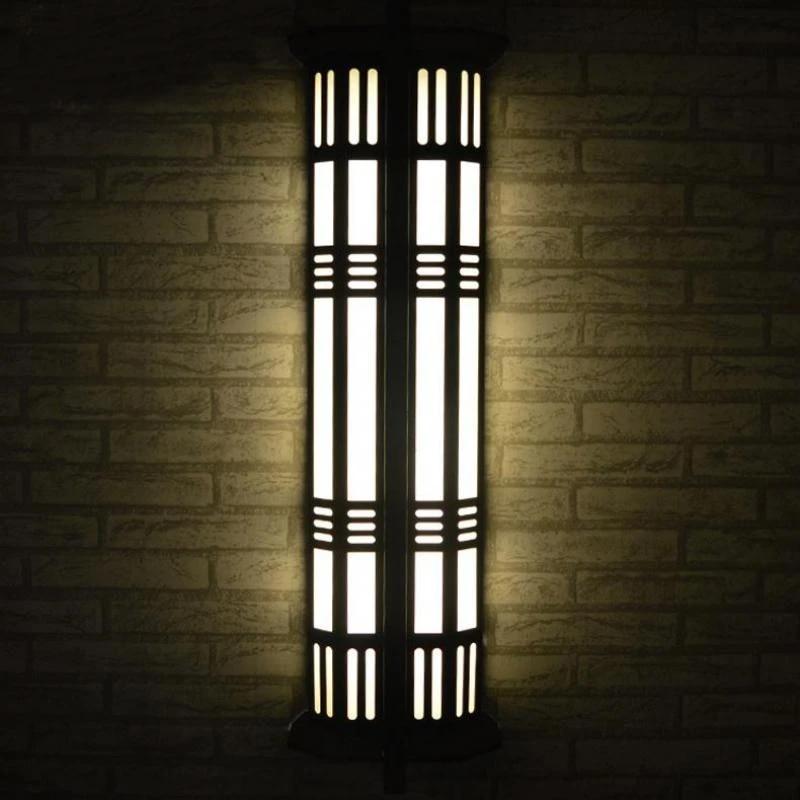 Dinding Eksterior Besar Lampu Antik Besi Lampu Taman Panjang Halaman Lampu Jalur Teras Tahan Air Outdoor Landscape Lighting Light Edge Lighting Light Wedge Book Lightlight Crane Aliexpress
