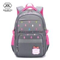 Brand Orthopedic School Bag Backpack for Girls Children Backpack Schoolbag Mochila Infantil Grade 3 6