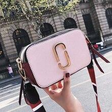 Женская дизайнерская сумка 2018 модная новая женская сумка высокого качества из искусственной кожи женская сумка простой хит цвета портативные сумки на плечо