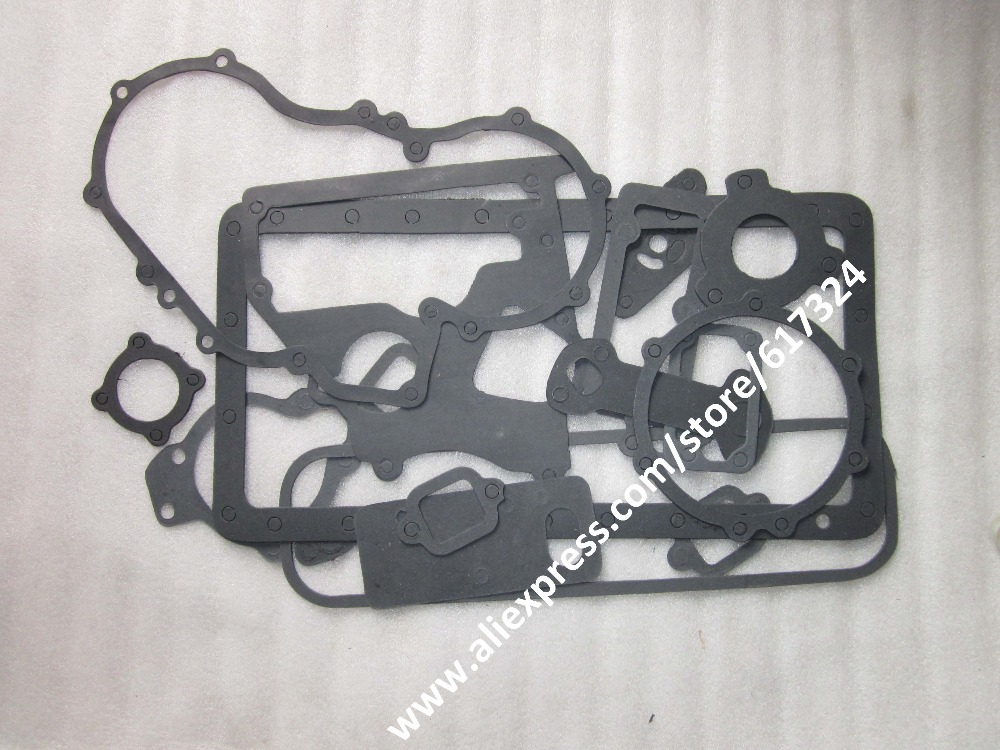 Yangdong YND485 YND485Q engine parts, the set of gaskets kit including the head gasket, part number: YND485Q-01002 laidong km4l23bt for tractor like luzhong series set of piston groups with gaskets kit including the cylinder head gasket