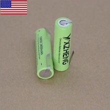 2pcs 3.7V Genuine NCR18650B 18650 3400mah Rechargeable Li-ion Battery Tabs DIY