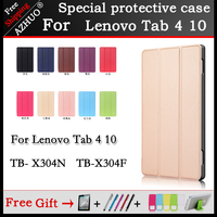 Magnetic Case For Lenovo TAB 4 10 Protective Smart Cover For Lenovo Tab4 10 TB X304N