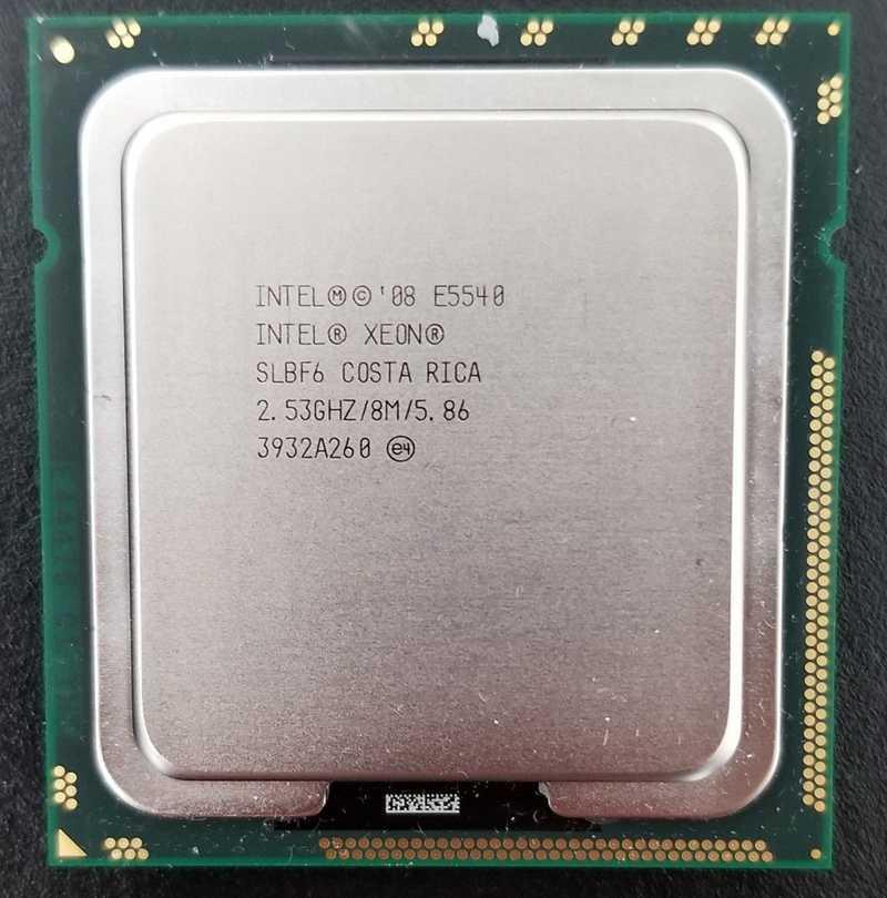 2.53 GHz 8MB L3 Cache 80 Watts DDR3-1066-ML330G6 HP Intel Xeon Processor E5540