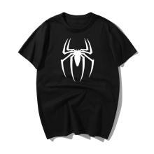 Spiderman T Shirt Spider-Man Spider Logo T-Shirt Summer Cotton Man Funny T Shirts Summer Hip Hop T Shirt Men Clothes 2019 купить недорого в Москве