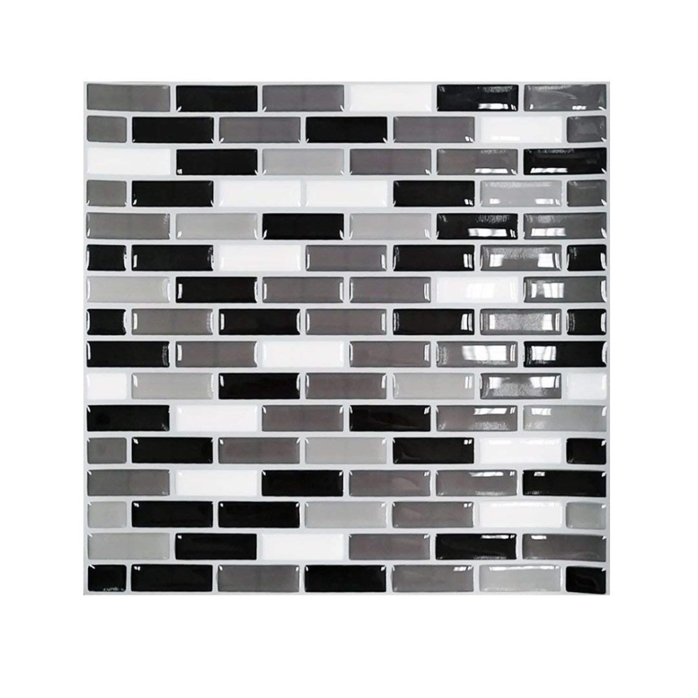 Wootile Amazon Best Seller Mosaic Wall Tile Waterproof And Removable Wall Decal Sticker DIY Your Kitchen And Bathroom