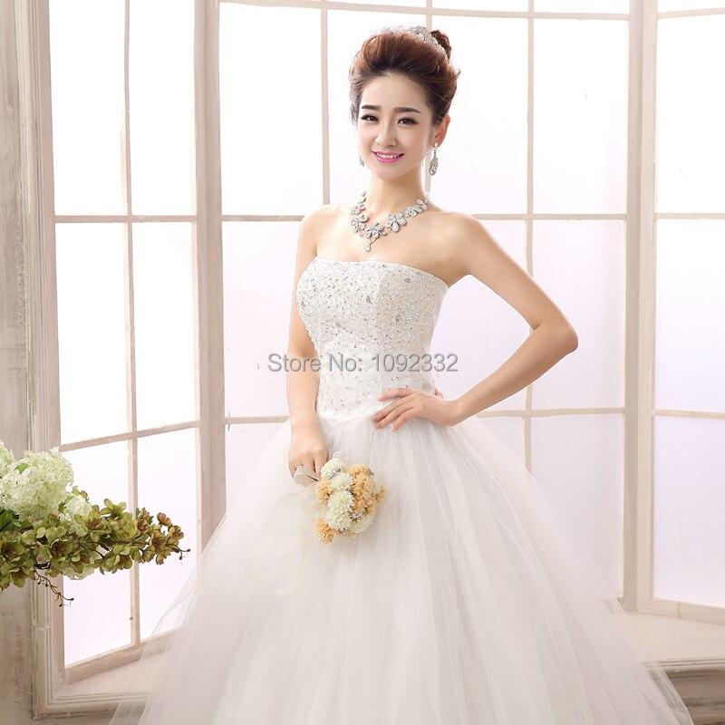 S 2016 New Stock Women Plus Size Bridal Gown Wedding Dress
