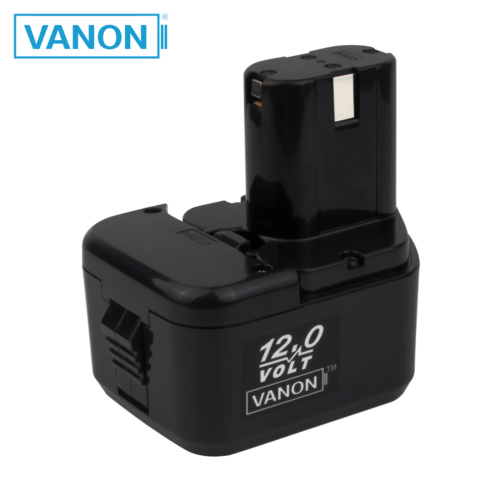VANON FOR  HITACHI EB1212S 12V 2000mAh NI-CD 2.0Ah Power Tools Battery EB1214S EB1220BL WR12DMR CD4D DH15DV C5D  DS 12DVF3(China)