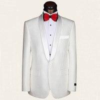 Heißer Wolle anzüge verkauf modelle anzug party kleider anzug bräutigam kleider dünne helle white one button gurke kragen kleid männer anzüge