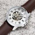 FOSSIL Мужские автоматические часы лучший бренд класса люкс Модные механические часы мужские спортивные наручные часы с кожей
