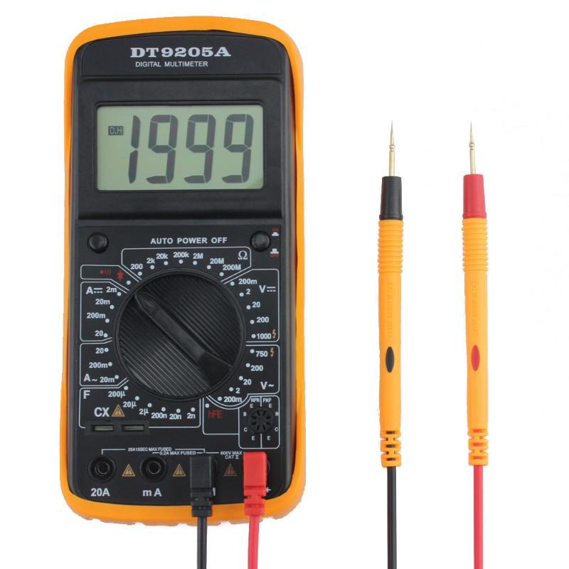 Digital AC/DC LCD Display Professional Electric Handheld Tester Multimeter Digital Multimeter Multimetro Ammeter Multitester minipa et 988 et988 lcd handheld digital thermometer multimeter