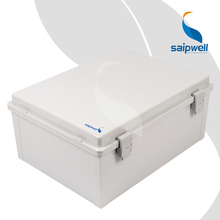 300*400*170mm  ABS  Waterproof  Connection Box  with Plastic Draw Latches / Hinge Type  Enclosure SP-MG-304017