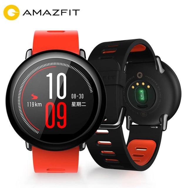 Español Xiaomi Huami Amazfit Reloj Inteligente GPS Hombre Mujer Deportes de Ritmo Cardíaco Impermeable IP67 Bluetooth Smartwatch Android IOS móviles