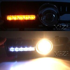 Image 3 - 2pcs Led DRL Daytime Running Lights Fog Lights Lamps Grille led Grill For VW Golf GTi 1997 2006 for TDI MK4 W/ Controller H3 55W