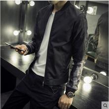 Free shipping !!! The new spring and autumn 2016 male beauty show printing baseball uniform jacket of cultivate one's morality