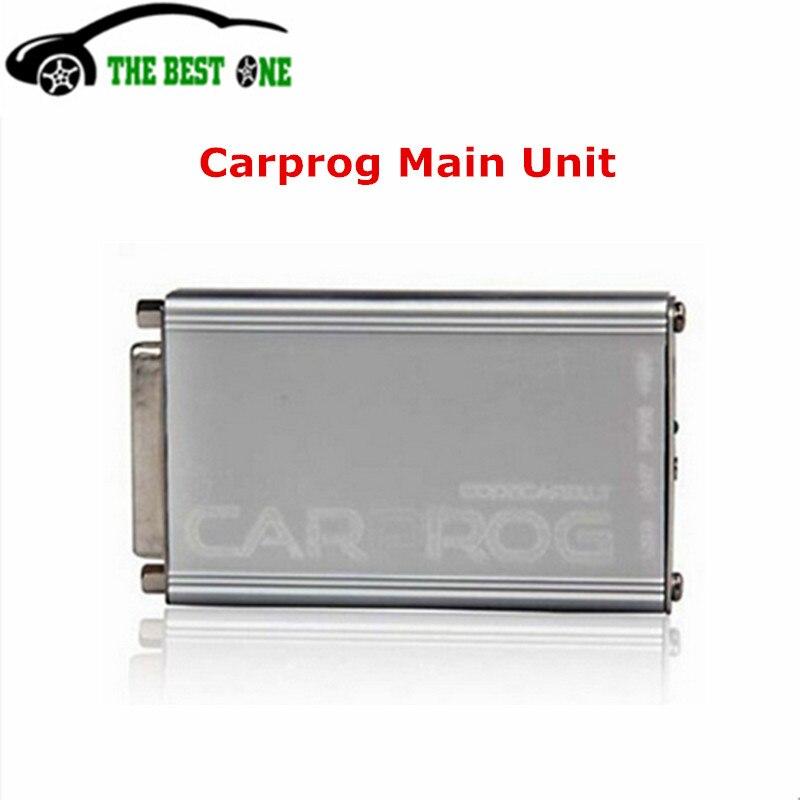 Prix pour Meilleure Qualité De L'unité Principale De CARPROG V9.31 Outil De Réparation De Voiture Pour Airbag/Radio/Compteur Kilométrique/Dash/Immo/ECU Voiture Prog V8.21 Livraison Gratuite
