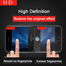 TOMKAS 4D Curved Edge Tempered Glass For iPhone 7 / 6 6s Glass HD Screen Protector Full Cover Glass For iPhone 7 6 6s Plus Film