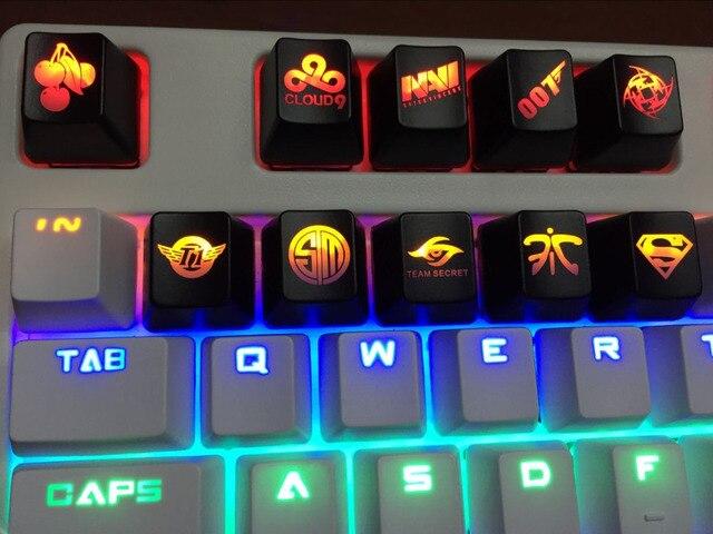 Toetsenbord Met Licht : Mechanische toetsenbord persoonlijkheid abs backlit doorlaatbaar