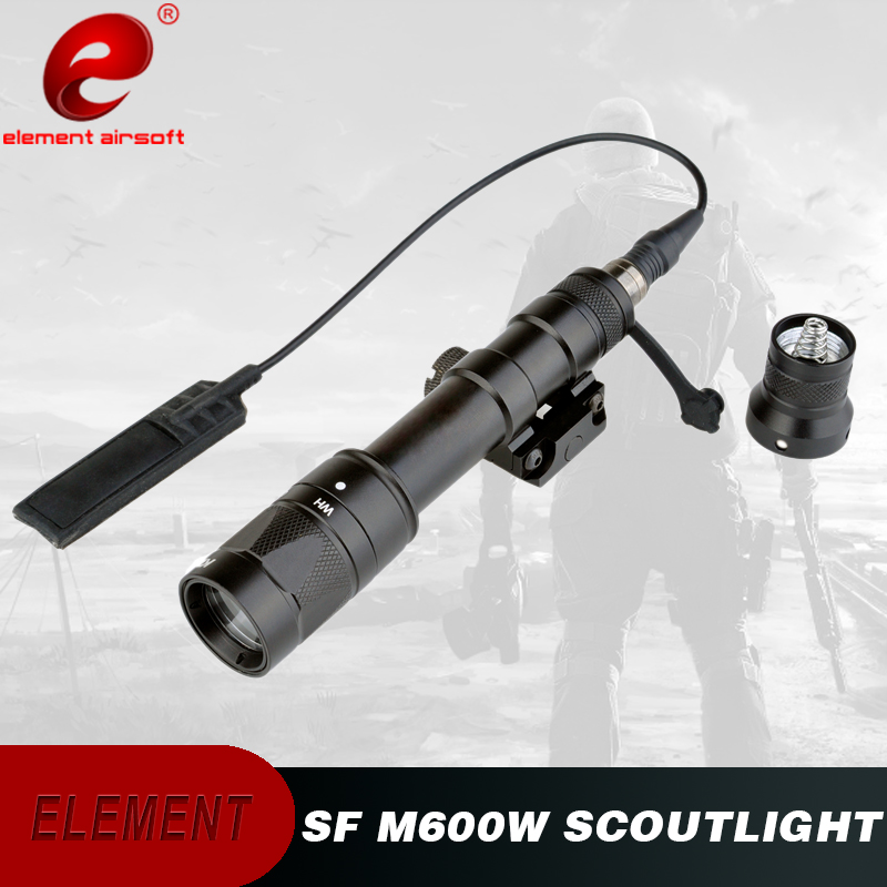 Airsoft Element Tactical Light Softair M600W Strobe Flashlight Weapon Rifle Flashlight M600 For Gun Airsoft Light