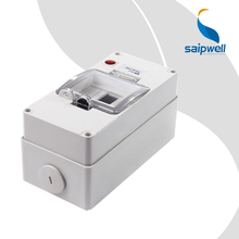 Saip Surperior Quality  Grey  IP66   ABS Waterproof Power Distribution Box