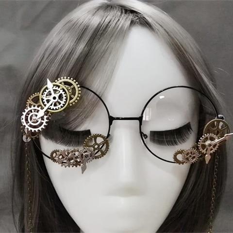 Novelties Steampunk Victorian Gears Mini Top Hat Costume Hair Accessory Handmade With Steam Punk Gear Glasses Karachi