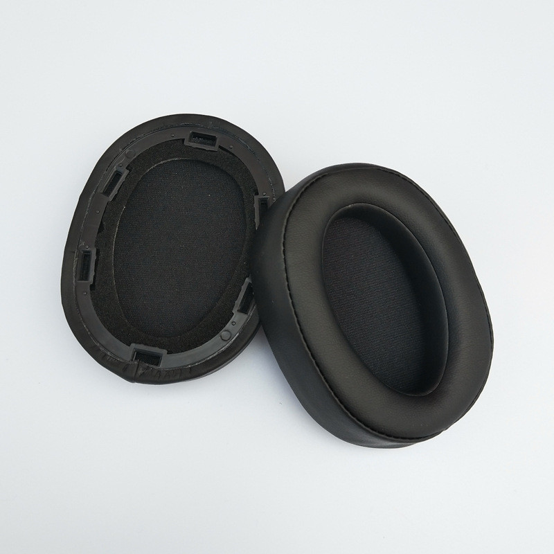 High Quality Soft Replacement Foam Ear Pads Cushions for Sony MDR-100ABN MDR 100ABN Headphones Earphone (1)
