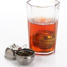 Essential Stainless Steel Ball Tea Mesh Filter Strainer w/hook Loose Tea Leaf Hook Spice
