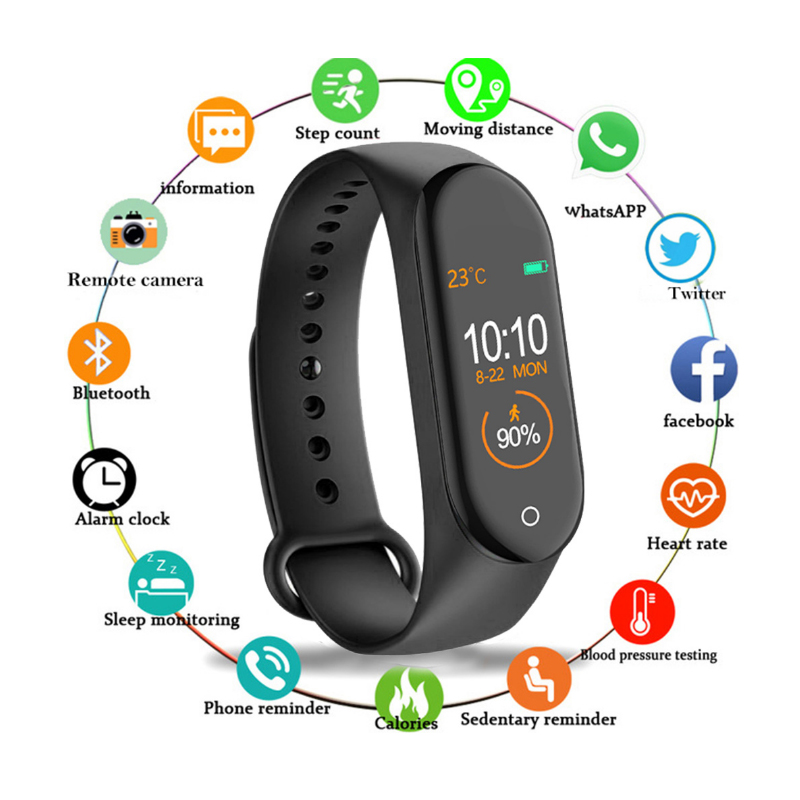 Budget Fitness Tracker Android Smart Watch 7