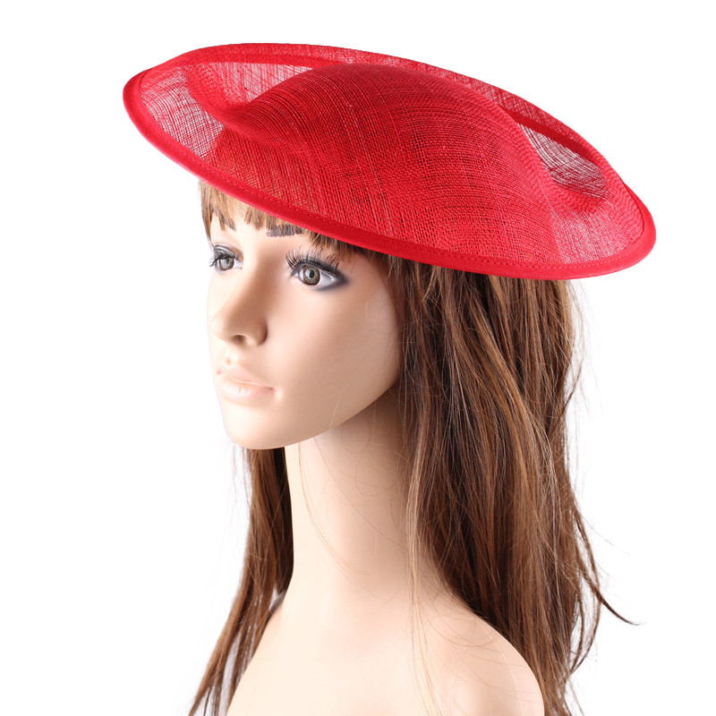 red 30CM SINAMAY fascinator base Great for making fascinators party hats cocktail hat beige white kentucky