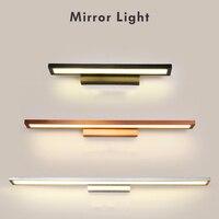 الحديثة أدى مرآة ضوء AC90 260V وحدة إضاءة Led جداريّة أضواء شنت الصناعية الجدار مصباح الحمام شنقا ضوء للماء الفولاذ المقاوم للصدأ-في مصابيح الجدار الداخلي LED من مصابيح وإضاءات على