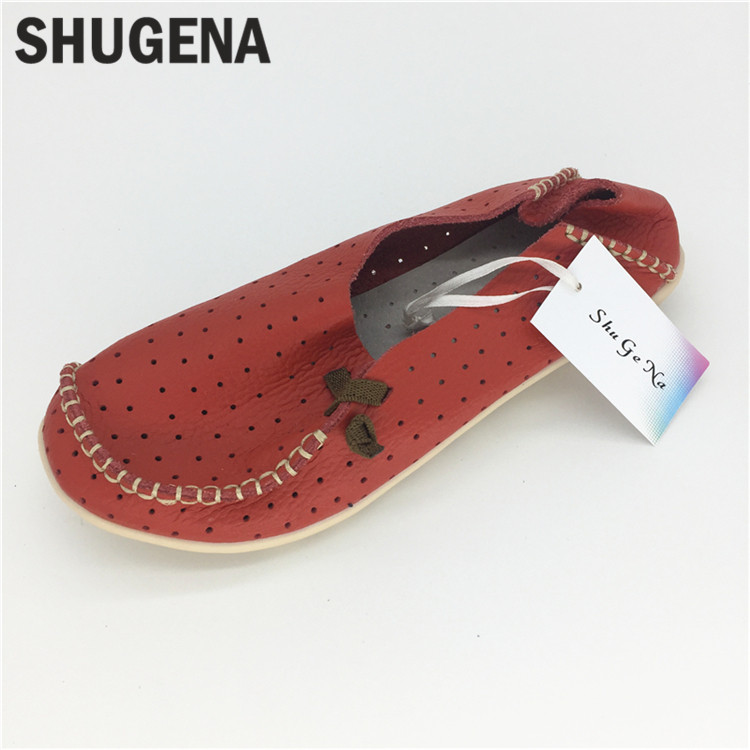 C025  Genuine Leather Women Shoes Flats Ballet Spring Solid Loafers Women Flat Shoes Casual shoes new arrival solid flowers handmade women shoes genuine leather spring women flats shoes casual loafers ballet flats shoes woman