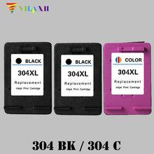 Vilaxh 304 xl Compatible Ink Cartridge Replacement for HP 304xl Deskjet 3700 3720 3730 3732 Printer cartridge