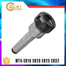 1 шт. цанговый патрон Держатель MTB4 M16 конус Морзе mta4-er32 ER25 ER20 ER16 держатель дверного инструмента зажим