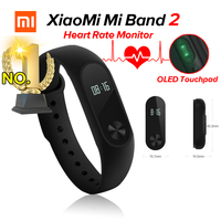 New Arrival Original Xiaomi Mi Band 2 Miband Fitness Tracker Heart Rate Monitor Bluetooth 4 0