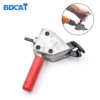 BDCAT New Nibble Metal Cutting Sheet Nibbler Saw Cutter Tool Drill Attachment Cutting Tool Metal Cut
