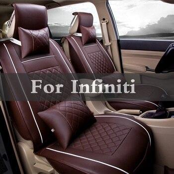 Leather Car Seat Covers Spring, Summer, Autumn Special Cushion Sets For Infiniti Ex Q50 Q70 Qx50 Q60 Qx60 Qx70 Fx Q40 Q30 Qx80